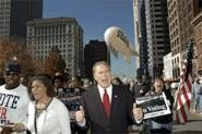 Strickland campaigning for his governor seat in 2006. - JACK KUSTRON/ PHOTOJ.COM