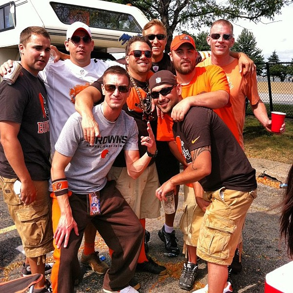 #sunday Funday #tailgate # munilot #browns #gobrowns #cleveland - PHOTO COURTESY OF INSTAGRAM USER TTALIANO