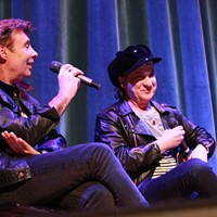 Sylvain Sylvain and Glen Matlock performing at the Rock and Roll Hall of Fame and Museum