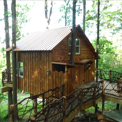 Take a Tour of the Luxurious Mohican Treehouse Everyone's Talking About