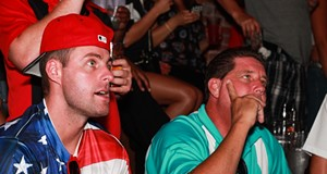 The Agony of Defeat: Clevelanders Watch Team USA Lose Against Belgium