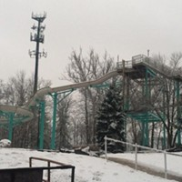 20 Photos of Snowy Ohio Amusement Parks The Beach Waterpark, February 2013 Photo via Cedar Point, Facebook