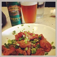 Cleveland Eats: 20 Things You Ate This Week The best wings in Cleveland and a damn good beer! @thegreenhousetavern Photo Courtesy of Instagram User surrblei