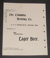 The Columbia Brewing Company was another one of the 11 breweries that was incorporated into the Cleveland and Sandusky Brewing Company. It was located Commercial Street.