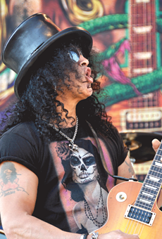 The Dissident: Guitar Hero Slash Talks about Taking a Different Approach on his Forthcoming Album World on Fire