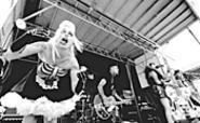 The Horror Pops, gettin' epileptic at the Vans Warped - Tour, Tower City Amphitheater, July 21. - WALTER  NOVAK
