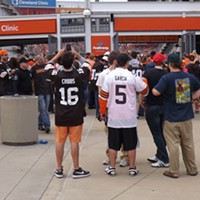 The Recent History Of The Cleveland Browns Told In 15 Now-Obsolete Jerseys The Josh Cribbs (2005-2012) jersey had a good shelf-life in Cleveland, but a case of fumblitis later in his career in Cleveland annoyed a lot of Browns Fans. Jeff Garcia (2004) only played one (bad) season in Cleveland, including a 8 of 27, 71-yard, three interception performance against the Dallas Cowboys Doug Brown/Cleveland Scene