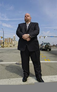 The last time Cleveland schools merged,  police were sending six squads a day to a middle school, says union boss Steve Loomis.