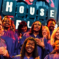 10 Things Going on in Cleveland this Weekend (December 6-8) The monthly Gospel Brunch has been a spiritual Sunday staple for years at the House of Blues, but it recently added a new choreographer. Created by famed gospel singer Kirk Franklin, the reinvigorated show puts a bit more emphasis on the music. Today, local singer Torri Harp will perform. Starting at 11 a.m., the all-you-can-eat musical extravaganza features Southern classics like chicken jambalaya, biscuits and gravy, and chicken and waffles. (Niesel) Photo Courtesy of Animal Collective, Facebook