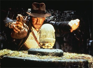 The new Indy flick can't keep up with the first three.