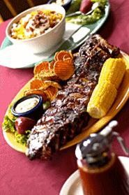 The ribs at Flying Pig soar -- and the chili's up there too. - WALTER  NOVAK