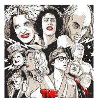 30 Incredible Movie Poster Recreations From Your Favorite Hollywood Hits The Rocky Horror Picture Show by Joshua Budich Photo Courtesy of Matthew Chojnacki