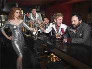 The Scissor Sisters love their American anonymity.