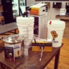 The shop sells starter kits that have all the equipment and ingredients you'll need to brew a batch.