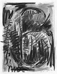 "The six in Johns's ""Ten Numbers"" (1960) is enmeshed - in charcoal and graphite."
