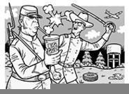 The South will rise again, maybe, at Burton's Civil War Encampment (Sunday). - DANNY  HELLMAN