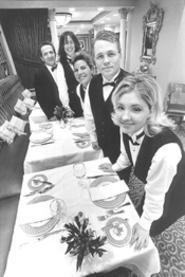 The staff of Giovanni's, always ready to serve. - WALTER  NOVAK