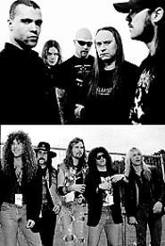 The Swedish group Entombed (top) and Chicago's - Trouble are just two of this weekend's heavy hitters.