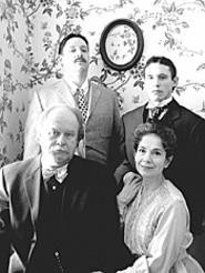 The Tyrone clan, ready to make life hell for one - another in Long Day's Journey Into Night.