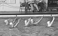 The U.S. Masters Synchronized Swimming - Championships come to town this weekend.