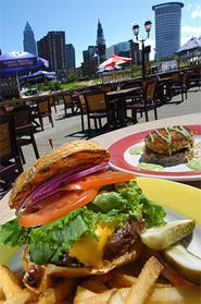 The West Bank Burger. No surcharge for the view. - WALTER NOVAK