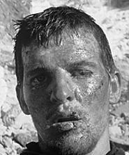 The will to live: Joe Simpson (Brendan Mackey).