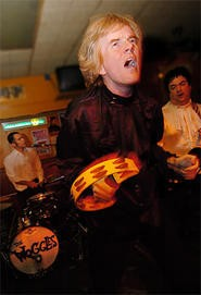 The Woggles wiggle  at the Beachland on Thursday, September 6. - WALTER NOVAK