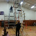 The World's Biggest Hot Wheels Loop-the-loop is at a Shaker Heights Elementary School