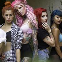 """10 Things Going on in Cleveland this Weekend (October 11-13) There's burlesque and then there's the Suicide Girls. A group of """"badass bombshells and geek goddesses,"""" the troupe takes the art form to another level. Consider, for example, their current Blackheart Burlesque Tour that they've re-launched after a six-year hiatus. Instructor/dancer Manwe Sauls-Addison, who's worked with world famous performers such as Beyonce, Jennifer Lopez and Lady Gaga, did the choreography and picked seven of the troupe's best dancers for the tour. The show parodies contemporary pop culture and makes fun of everything from Game of Thrones to Dr. Who. It takes place at 8 tonight at House of Blues. Tickets are $20 advanced sale and $22 at the door. (Niesel) Photo Courtesy of Todd V. Wolfson for the Kevin Welch Website"""