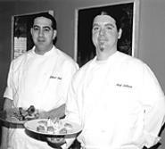 There's nothing green about Fadel (left) and DeCocco, - Sage's seasoned experts. - THOM  SHERIDAN