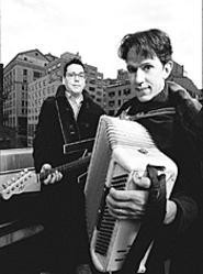 They Might Be Giants to you, too, if you were only two - feet tall. The band plays Tops KidsFest this weekend.