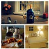 This B&B is settled right on Lake Erie and right in the middle of Northeast Ohio's Wine Country. It's the perfect place to enjoy sunsets, be pampered at the spa, and sip on wine in their tasting room.  http://www.thelakehouseinn.com/