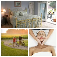 6 Northeast Ohio Bed and Breakfasts That You Absolutely Can't Miss Out On This B&B offers rooms in a historic farm house, each with their own unique theme and amenities. Many include bubbling Jacuzzi tubs and cozy fireplaces. http://www.hideawayinn.com/