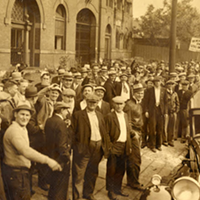 PHOTOS: A History of 15 Cleveland Breweries (That Are No More) This Cleveland brewing company, located on Wilson St, was only open for a year. In the photo above, brewery union workers are on strike, demanding for better working conditions. The Cleveland Memory Project