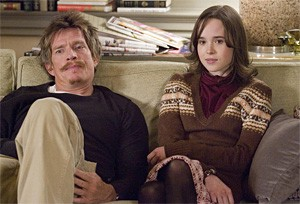 Thomas Haden Church and Ellen Page play über-familiar roles in Smart People.