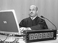 Thomas Januzzi: A straight judge in a hippie town. - WALTER  NOVAK