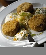 Those crab cakes will take your breath away -- if you don't inhale them first. - WALTER  NOVAK