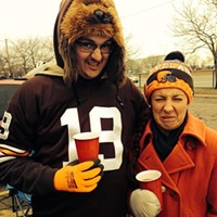 Weekend Photos Those faces. #browns #tailgating #cleveland Photo via Johanna Rae, Instagram