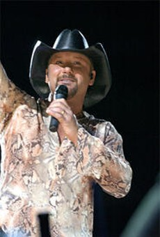 Tim McGraw keeps the Faith at the Q last Friday.