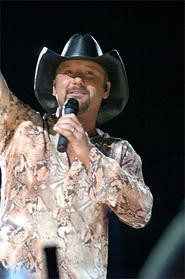 Tim McGraw keeps the Faith at the Q last Friday. - PHOTO BY WALTER NOVAK