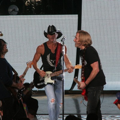 Tim McGraw Performing at Blossom Music Center