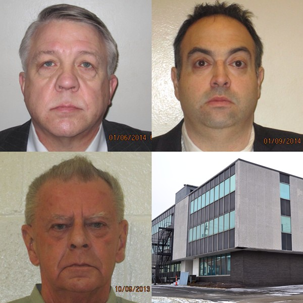 The Brothel of Bedford: The Mugshots and Inside The Office Space