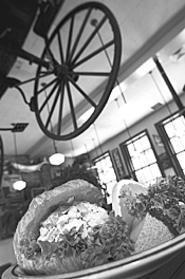 Trust us: Order the chicken-salad croissant. - WALTER  NOVAK