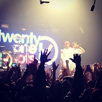 15 Photos from Your Holiday Weekend in Cleveland #twentyonepilots #cleveland Photo via Johanna Rae, Instagram
