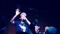Rapper Cousin Stizz Shows Off His Lyrical Dexterity at Grog Shop Show