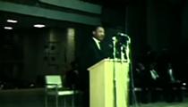 Listen: Martin Luther King Jr.'s 1967 Speech at Glenville High School