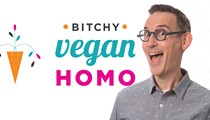 Dave Huffman Debuts 'Bitchy Vegan Homo' Cooking Show Just in Time for Cleveland VegFest