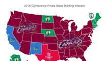 More Americans Are Rooting For the Cavs Than You Think, According to Twitter Data