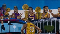 LeBron Murals are Already Overtaking the Walls of Los Angeles