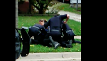 Akron Police Caught on Video Beating Cleveland Man Pinned to the Ground